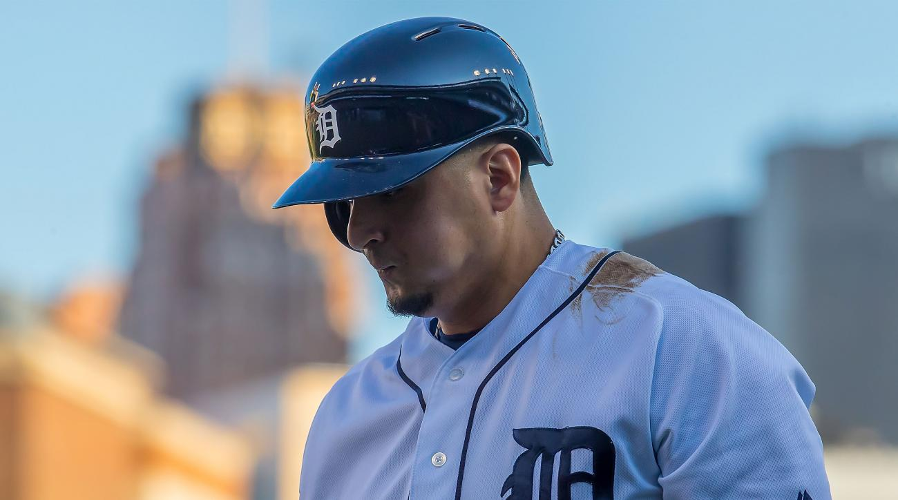 Victor Martinez hospitalized overnight for illness, report says