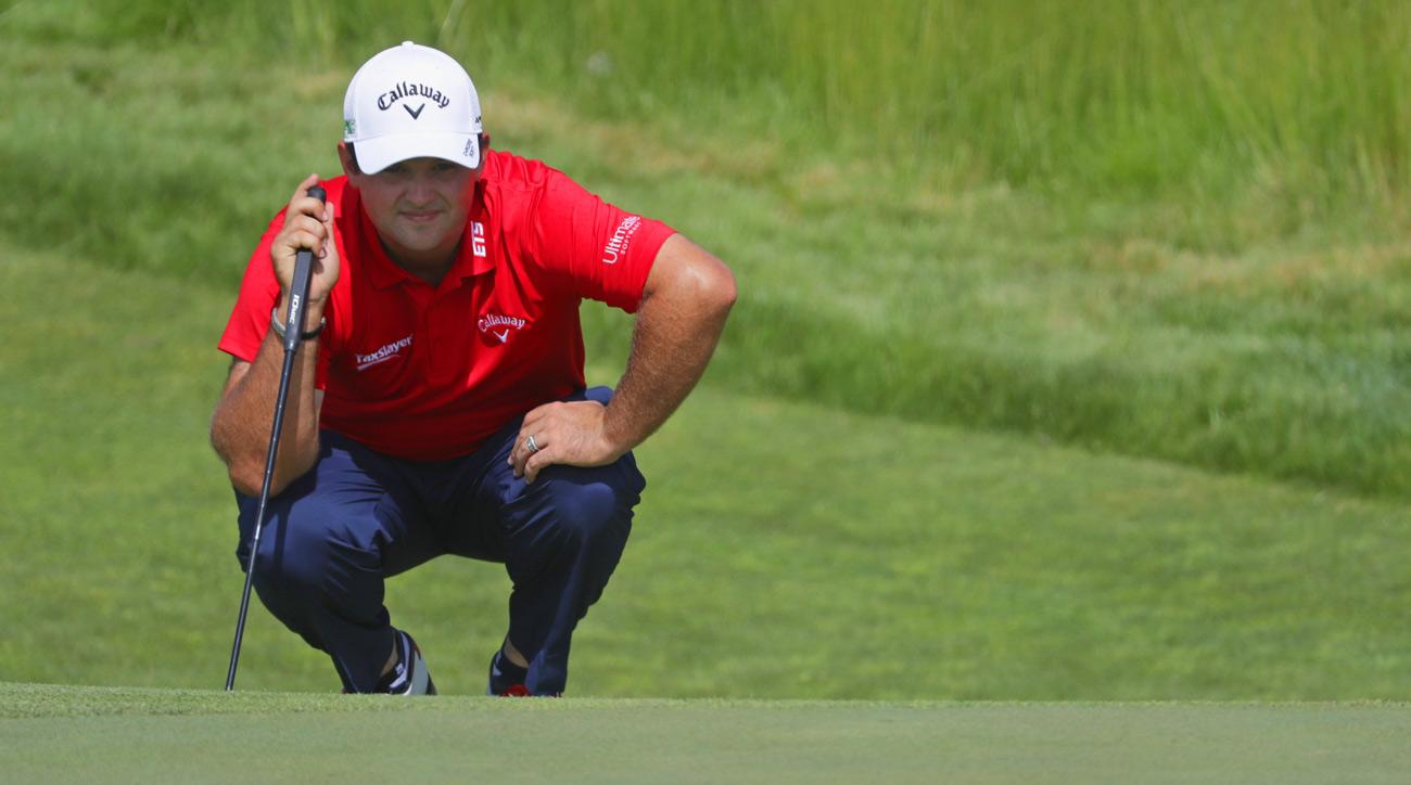 Patrick Reed during the 2017 U.S. Open at Erin Hills.