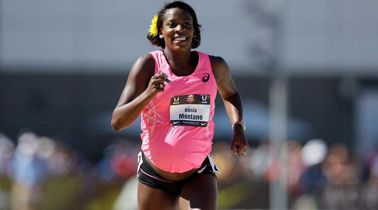 alysia montano racing us championships pregnant again