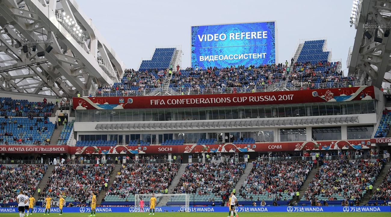 Confederations Cup has been a testing ground for Video Assistant Referee (VAR)