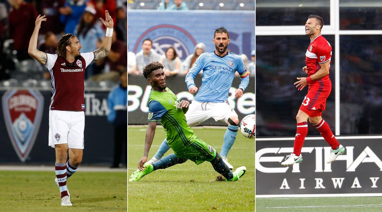 Alan Gordon, David Villa and Nemanja Nikolic were all heroic in MLS Week 16