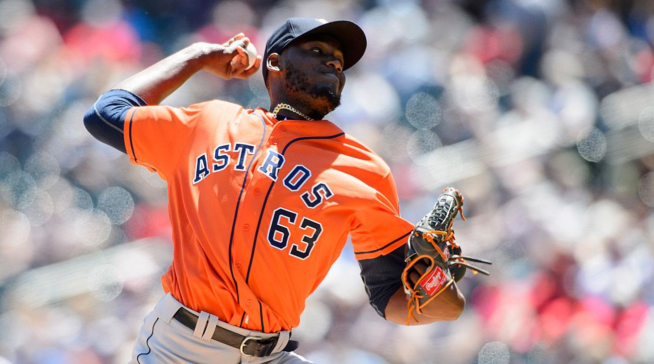 David Paulino, Houston Astros
