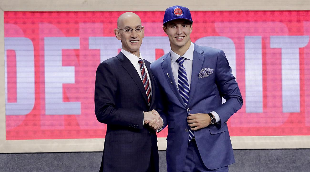 Detroit Pistons take Duke's Luke Kennard with No. 12 pick