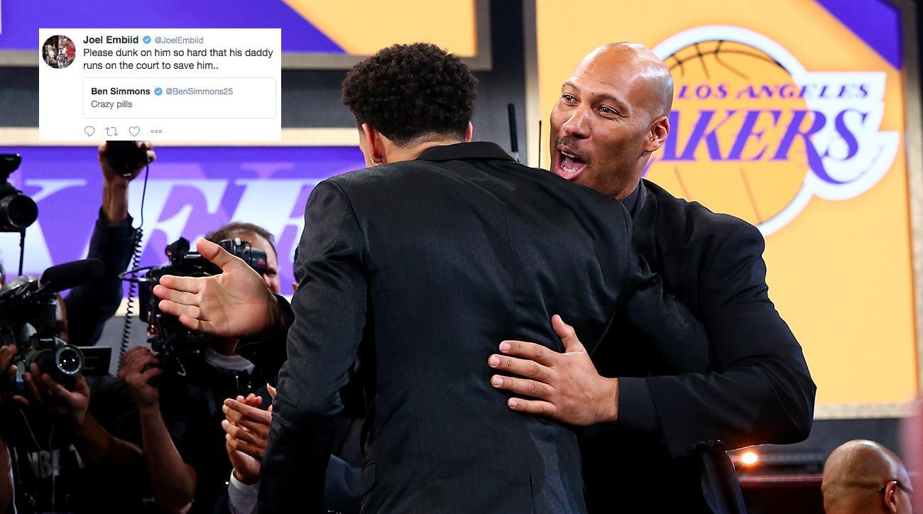 76ers take Fultz, Lakers grab Ball to start NBA draft