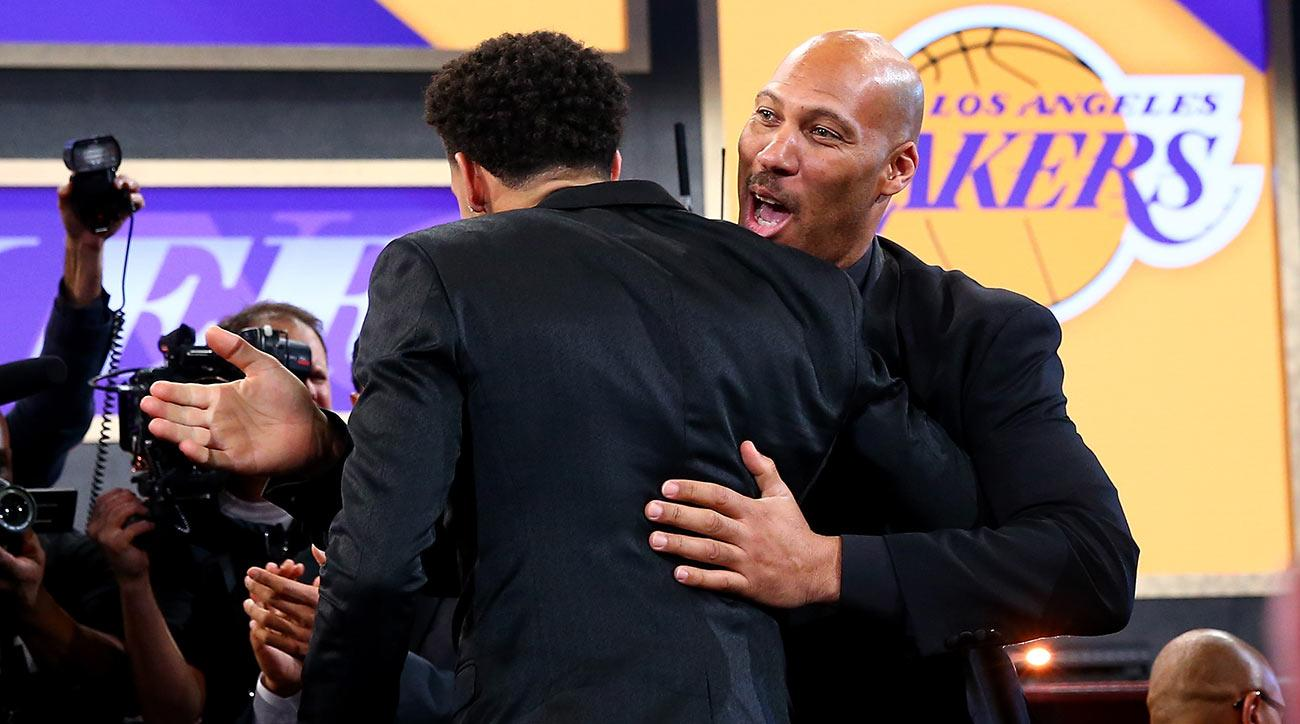 Magic Johnson explains why the Lakers traded D'Angelo Russell