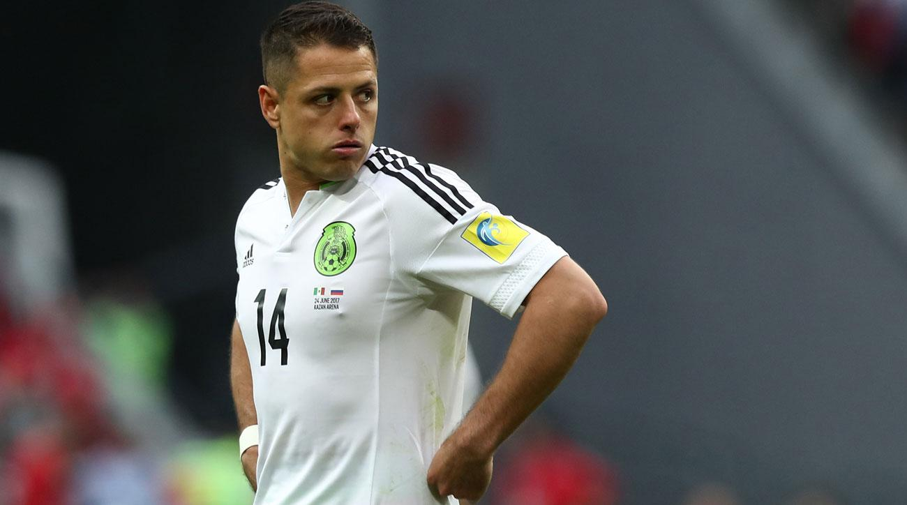 Chicharito remains likely to play for Mexico vs. Germany in the Confederations Cup