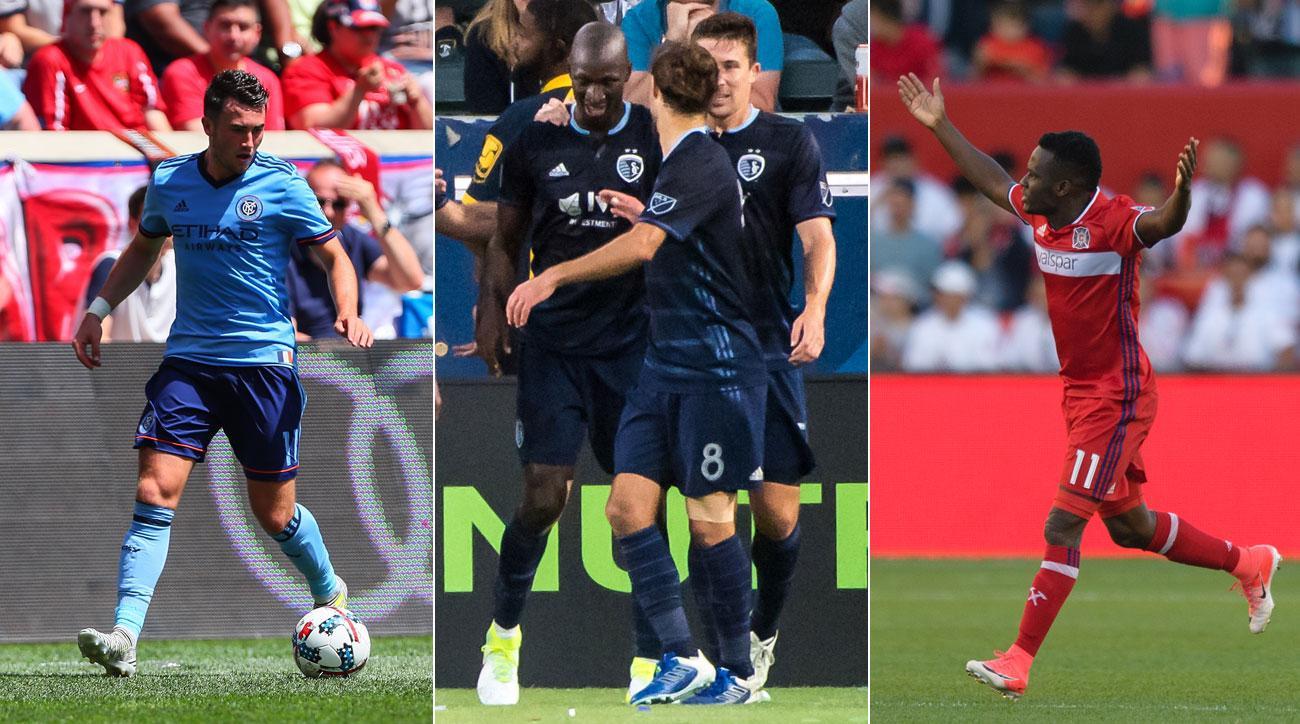 Jack Harrison, Ike Opara and David Accam were the stars of MLS Week 17