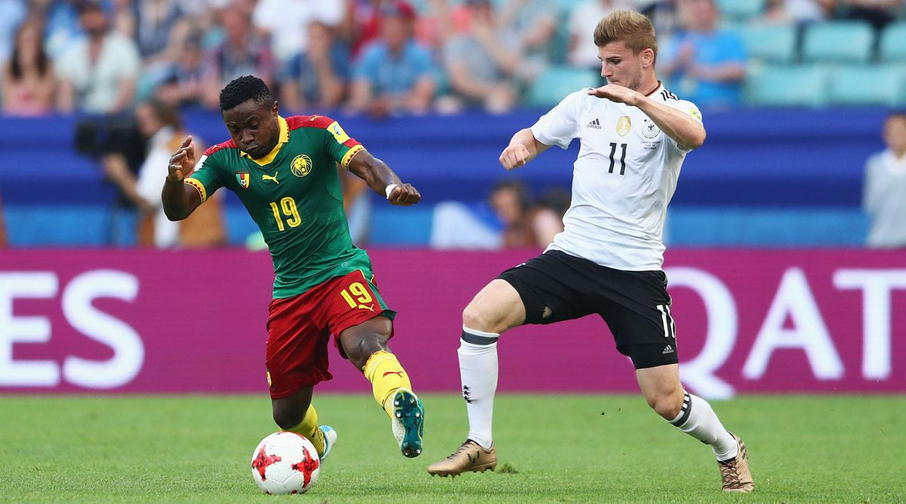 Timo Werner has emerged as a key for Germany at the Confederations Cup
