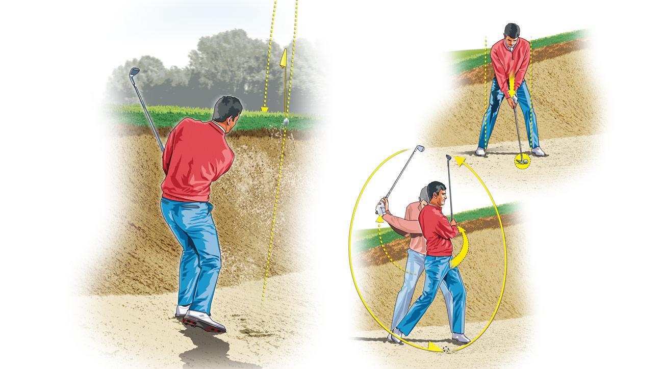 Copy the following setup and swing adjustments, and you'll loft the ball higher, making the most penal hazards look easy.