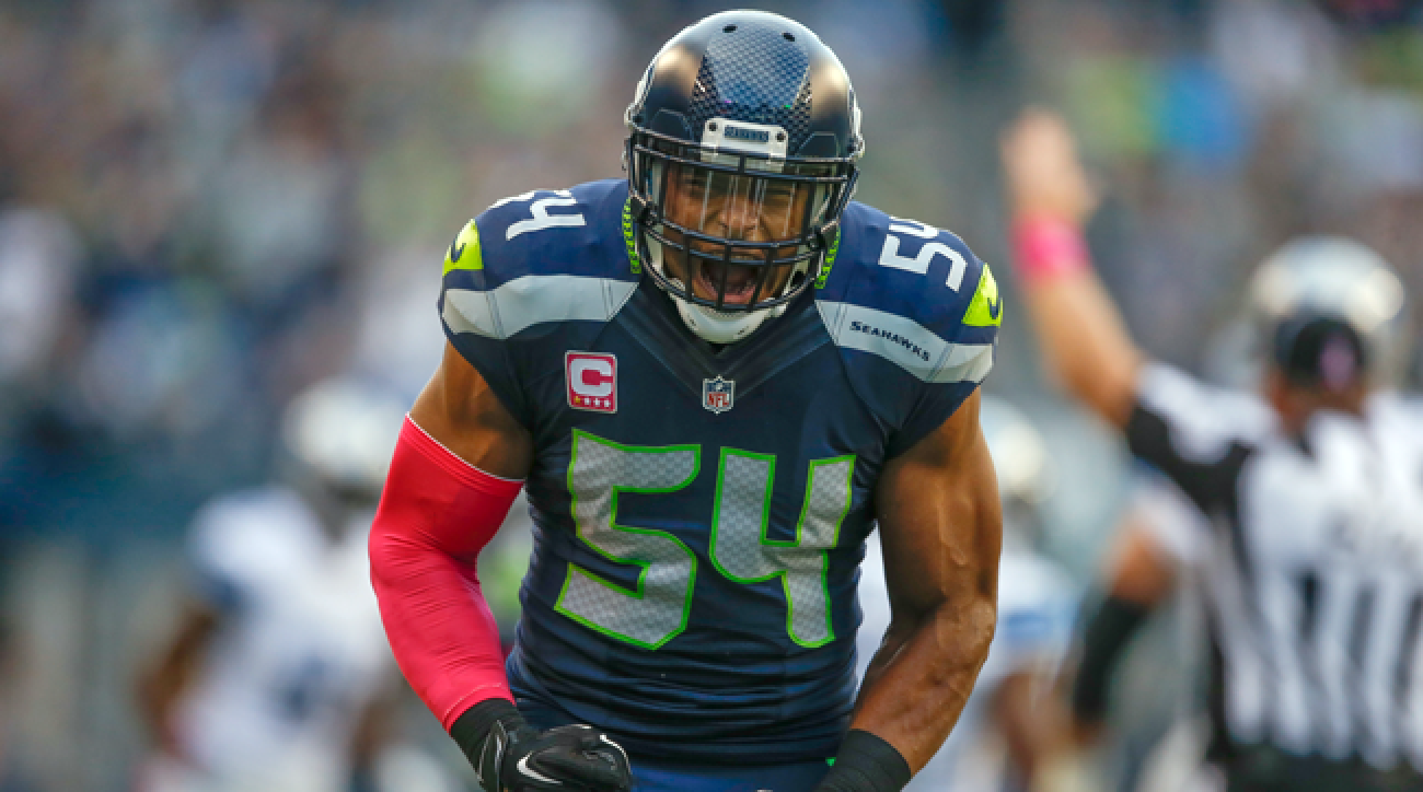 Seattle Seahawks middle linebacker Bobby Wagner.