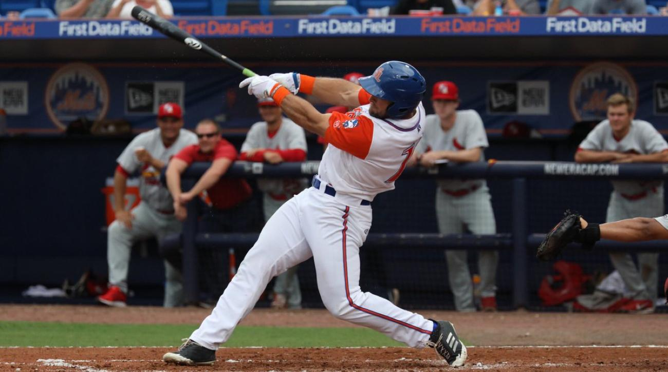 tim tebow home run port st lucie mets