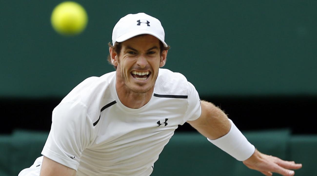 Andy Murray Wimbledon draws