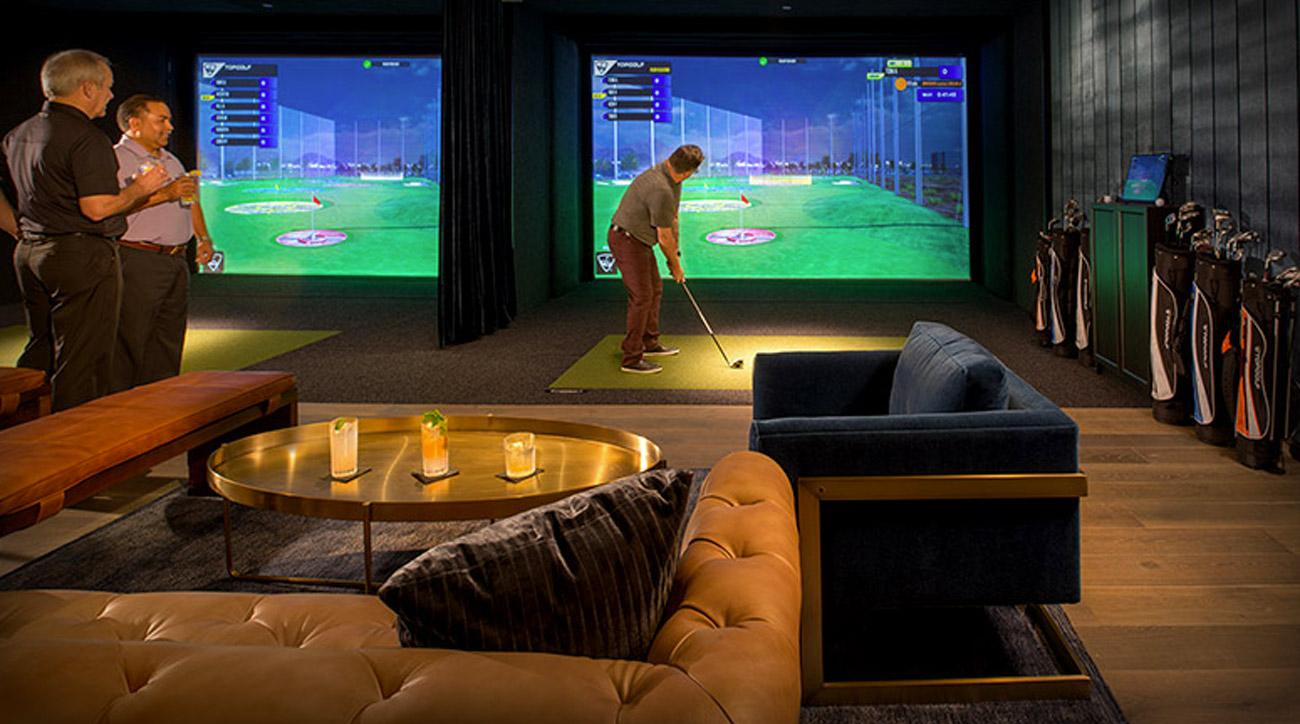 The first Topgolf Swing Suite opened in the Four Seasons Hotel in Houston.