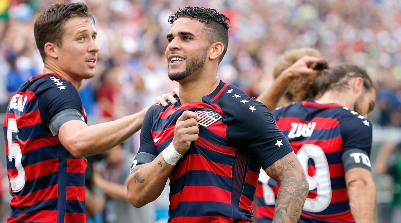 Dom Dwyer scores for the USA vs Ghana