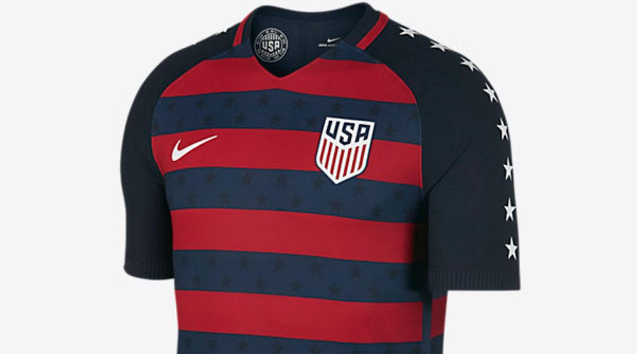 The USMNT's new Gold Cup uniform