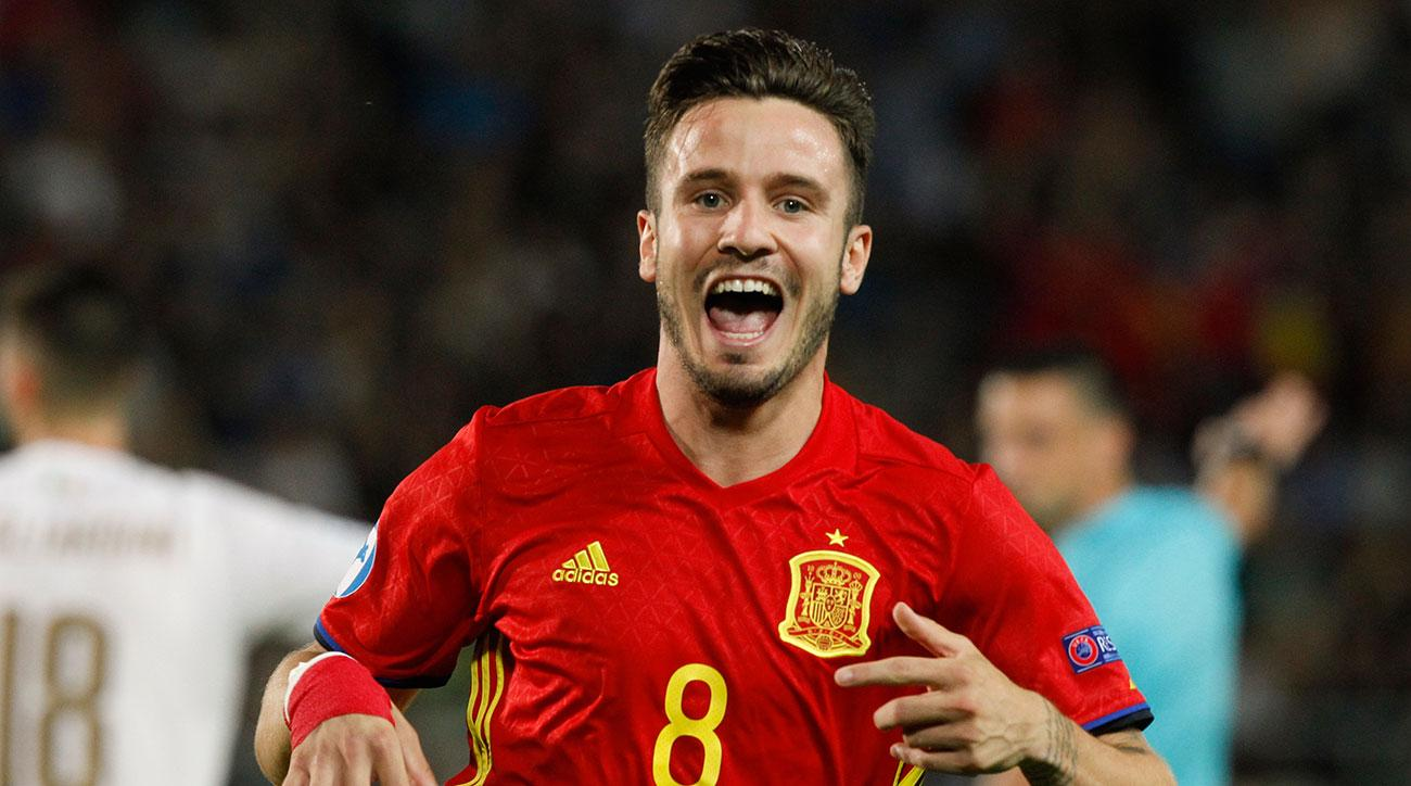 Saul Niguez extends contract with Atletico Madrid
