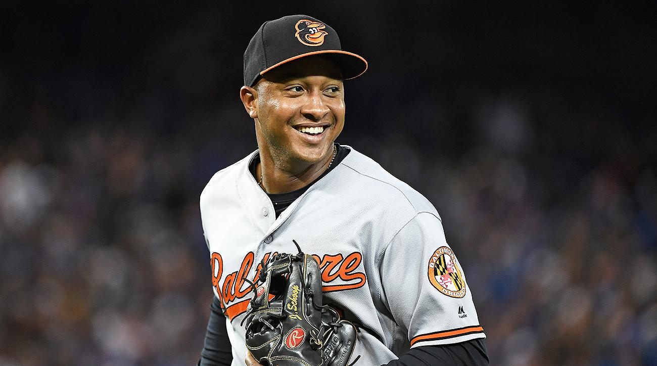 Baltimore Orioles Jonathan Schoop