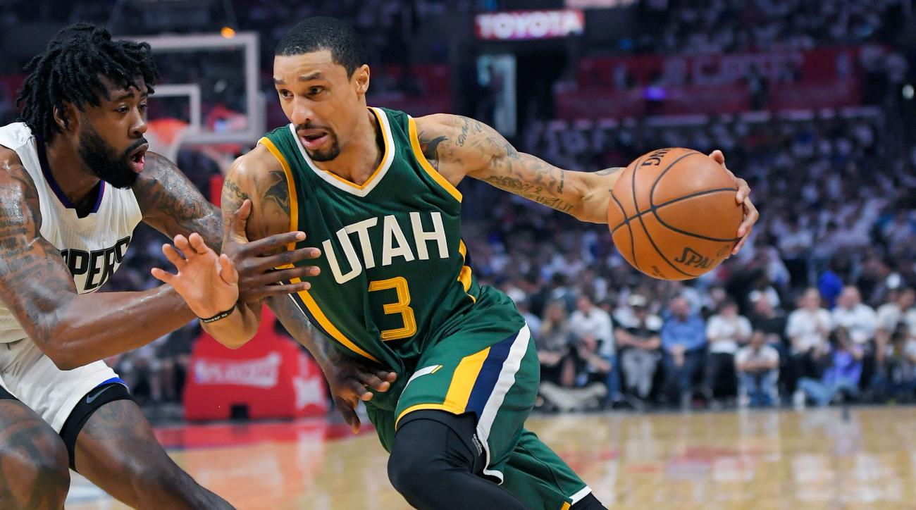 George Hill agrees to three-year, $57M deal with Kings