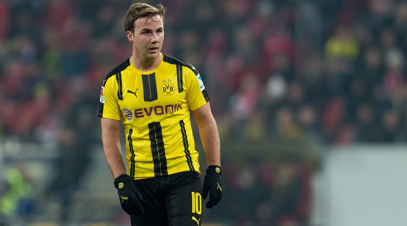 Gotze to return to Dortmund training after months out with muscular myopathy