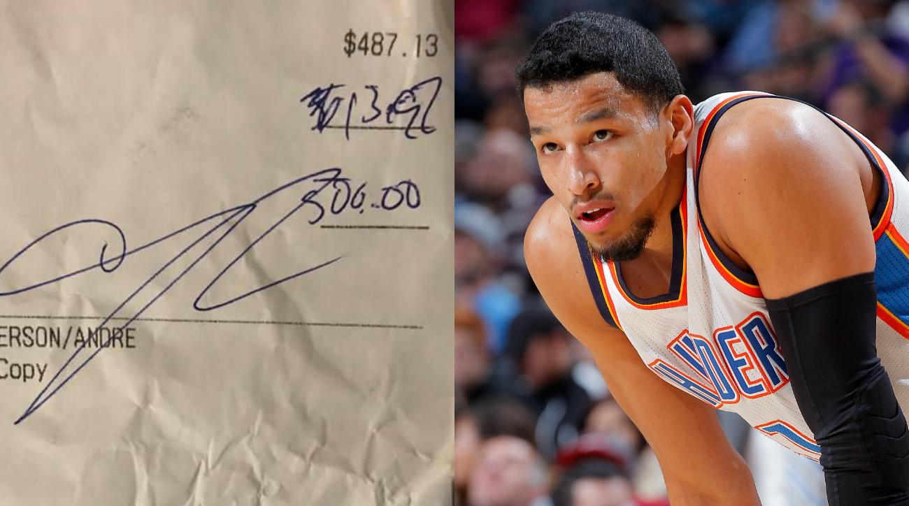Andre Roberson contract: Thunder G leaves tiny bar tip