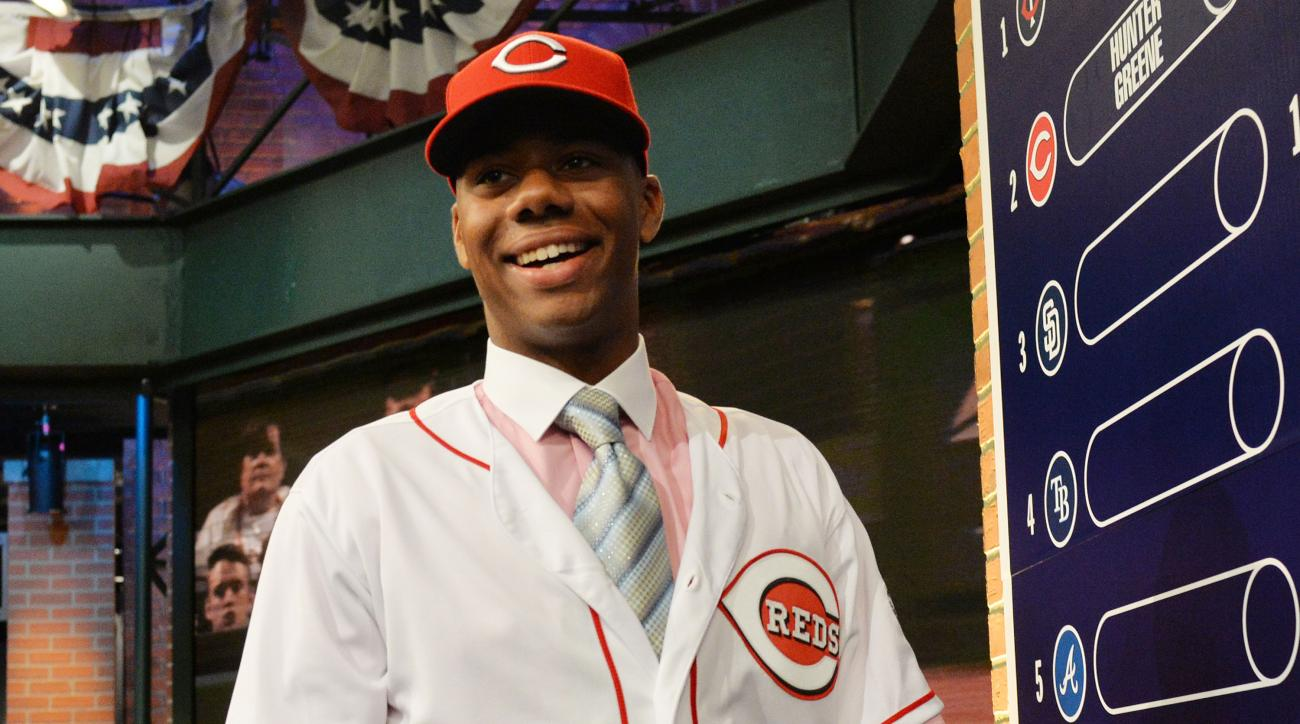 Hunter Greene, Reds agree to $7.23 million signing bonus