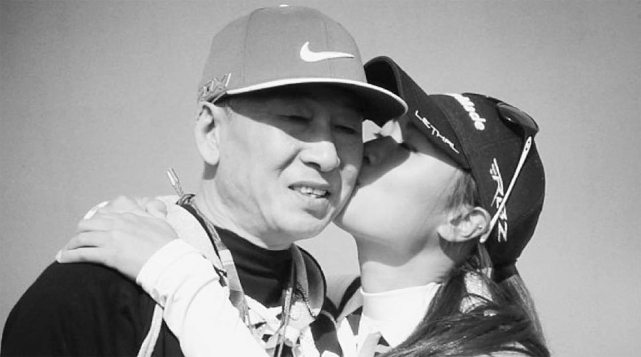 "Danielle Kang posted this photo of her dad on Father's Day, captioned: ""I know you're with me every step of the way."""