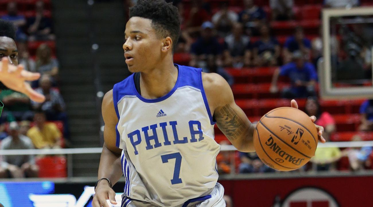 No. 1 pick Markelle Fultz leaves Summer League with ankle injury