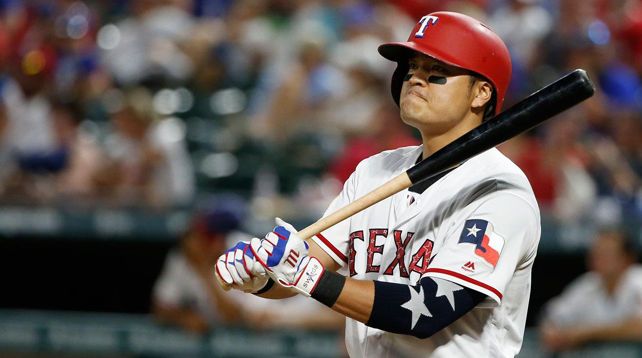 Image result for shin soo choo rangers images