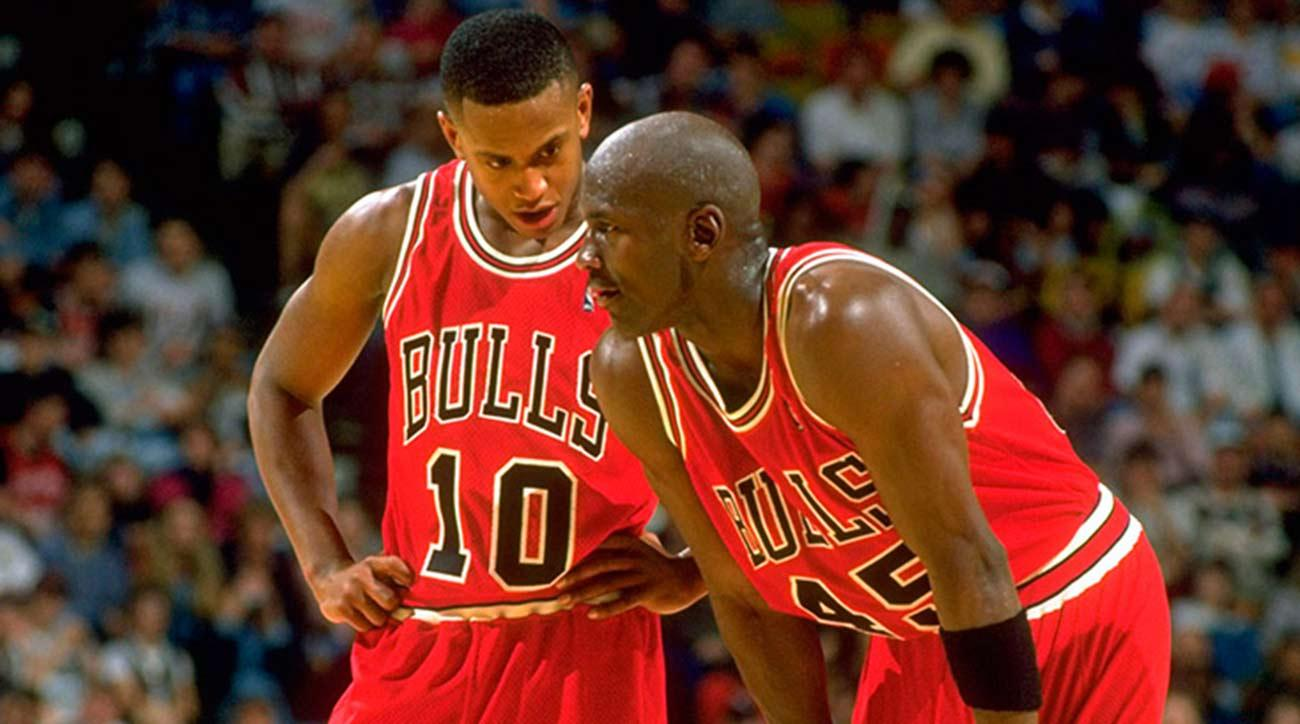 BJ Armstrong on Michael Jordan...