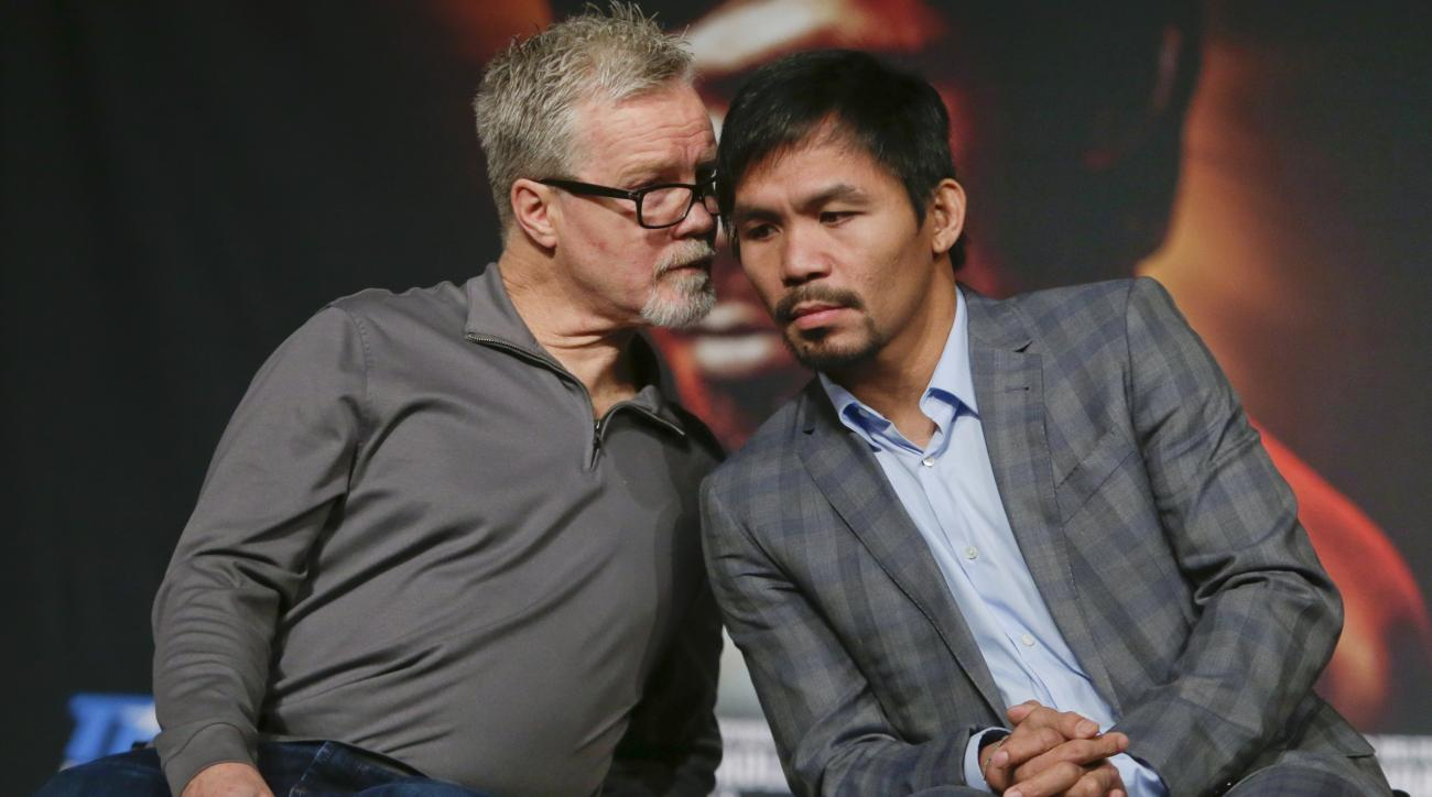 Manny Pacquiao S Future Not In Focus For Trainer Roach