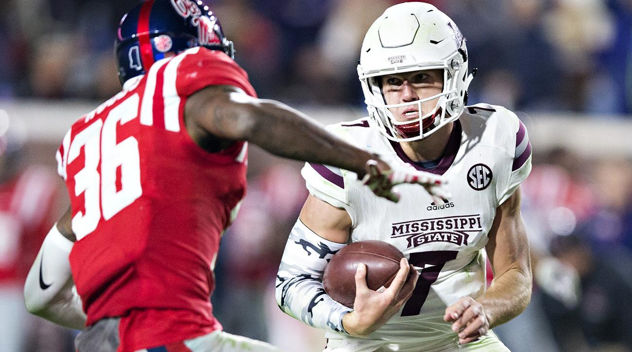 Nick Fitzgerald: Mississippi State quarterback on recruitment, Dak Prescott