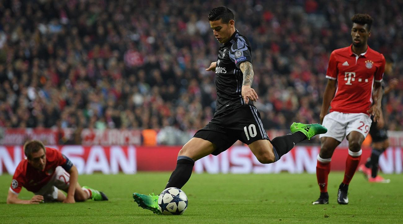 James Rodriguez leaves Real Madrid for Bayern Munich