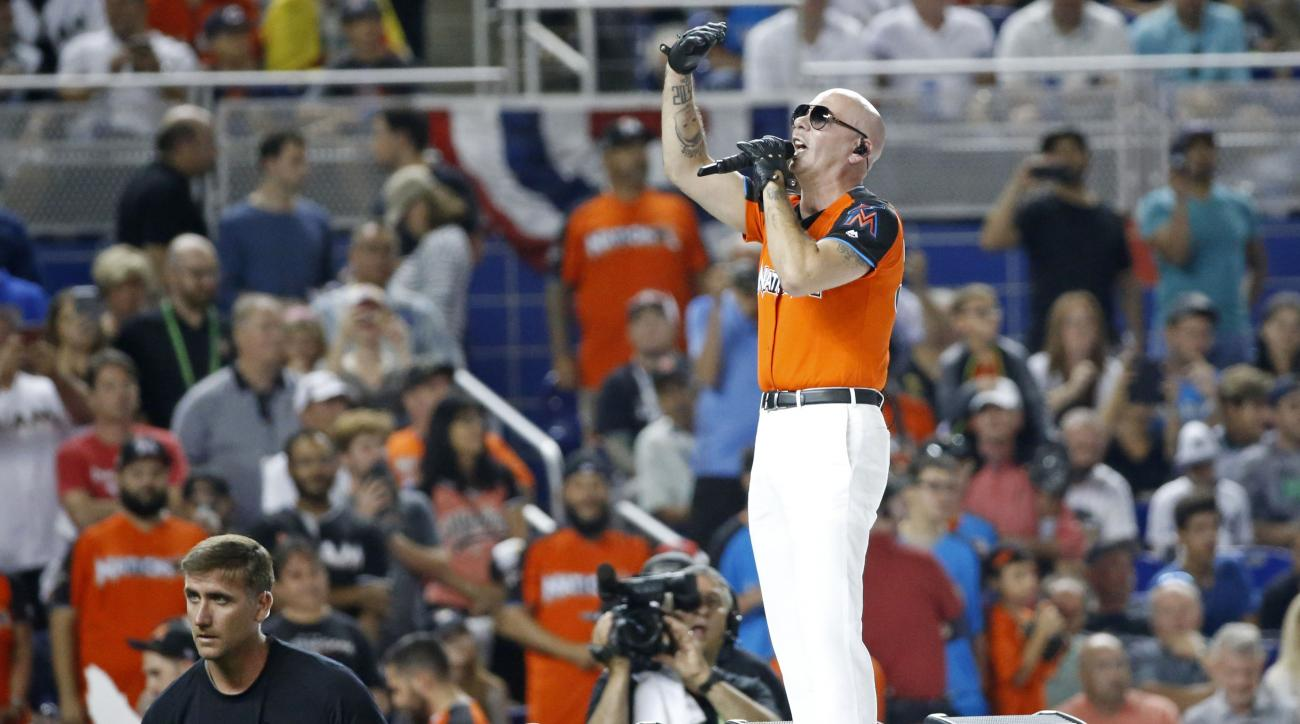Rapper Pitbull Teams Up With Jeb Bush in Baseball Team Bid