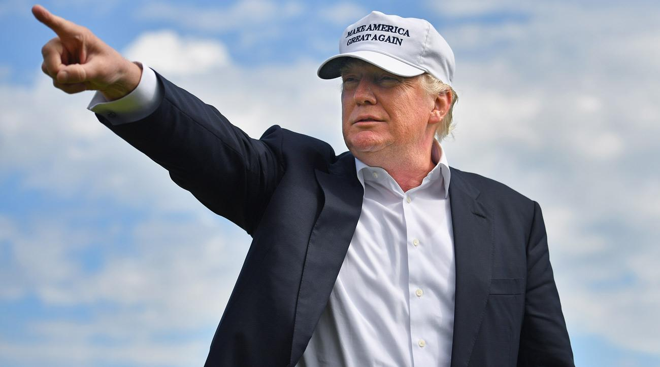 The U.S. Women's Open is being held at at Trump National Golf Club in Bedminster, N.J.