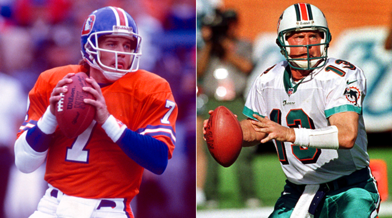 separation shoes 13918 355e1 Elway and Marino Could Have Been Baseball Royalty | SI.com