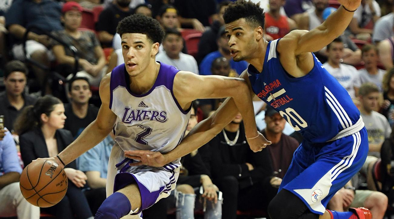 04b42ed5f11 Lonzo Ball Shines In Third Summer League Game