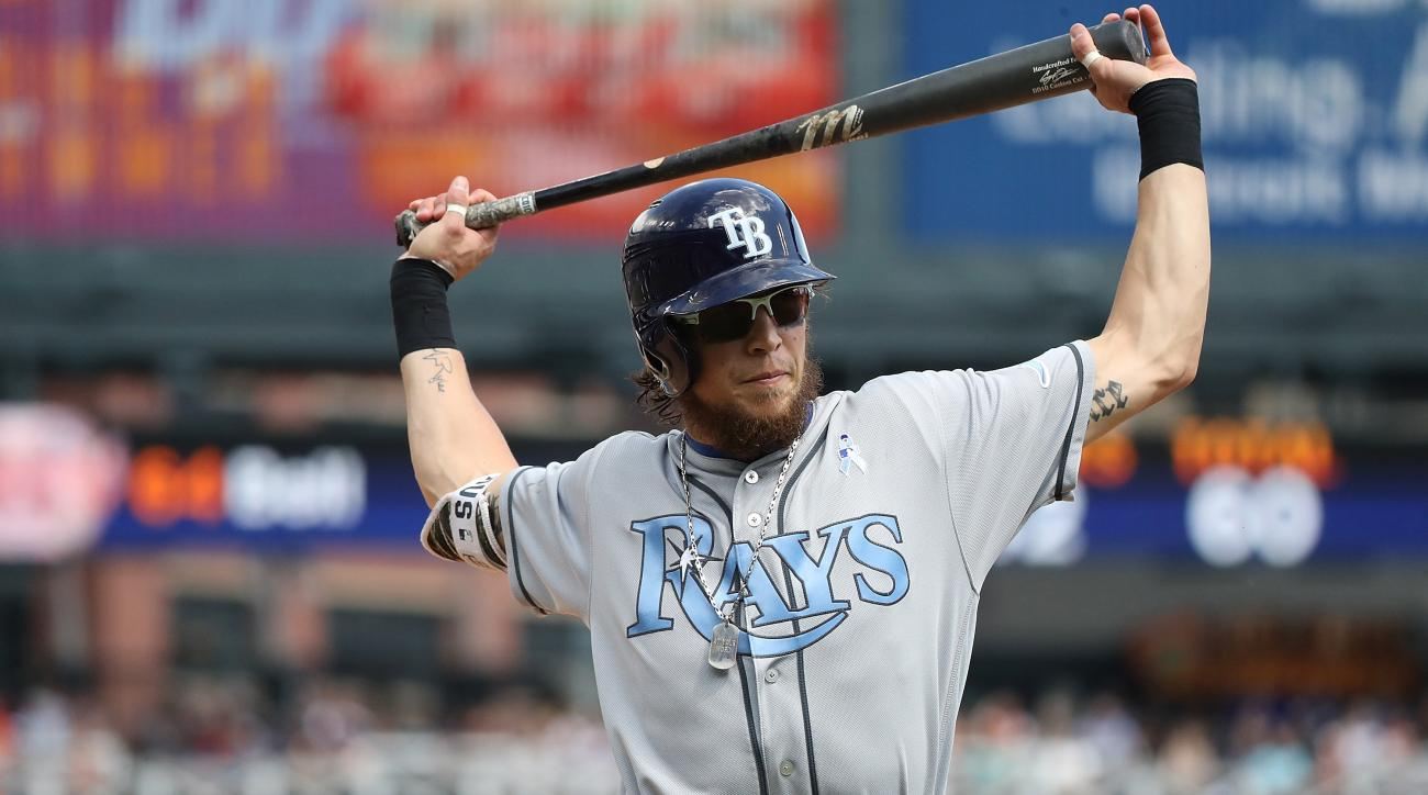 Colby Rasmus: Rays OF leaves team for personal reasons