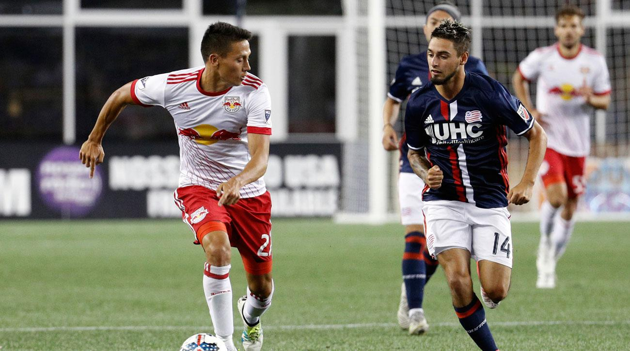 The New York Red Bulls and New England Revolution will meet in the U.S. Open Cup quarterfinals