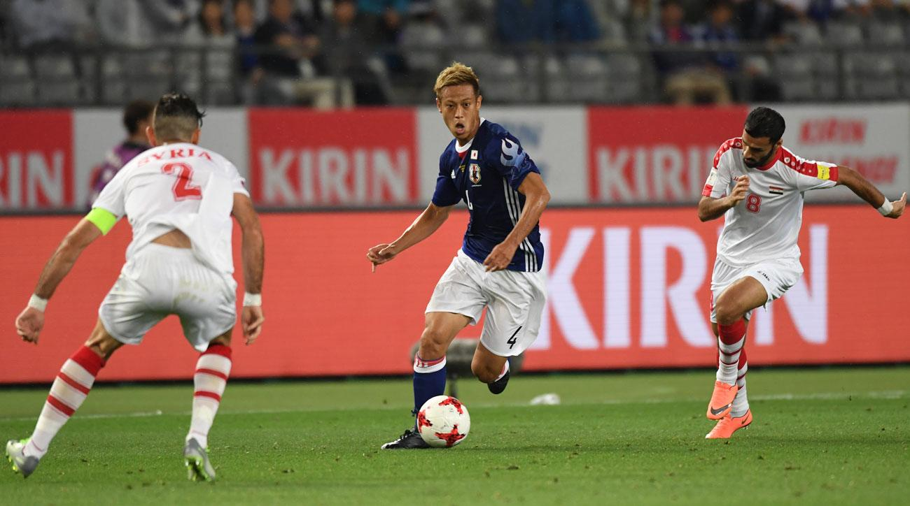 Japan international Honda signs for Mexican club Pachuca