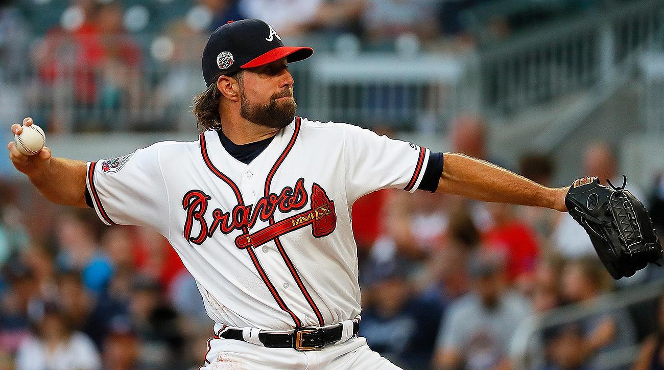 Atlanta Braves R.A. Dickey