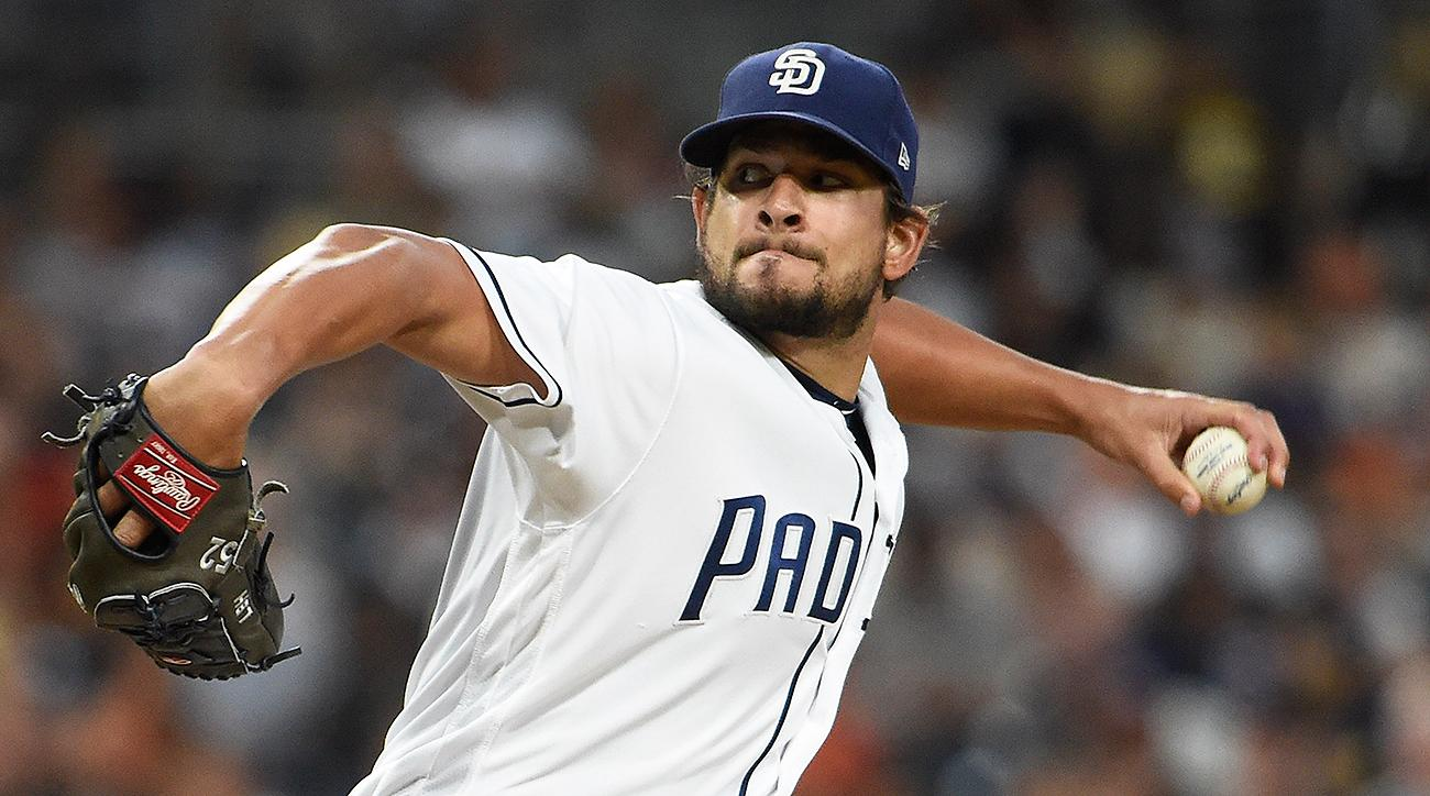 San Diego Padres Brad Hand