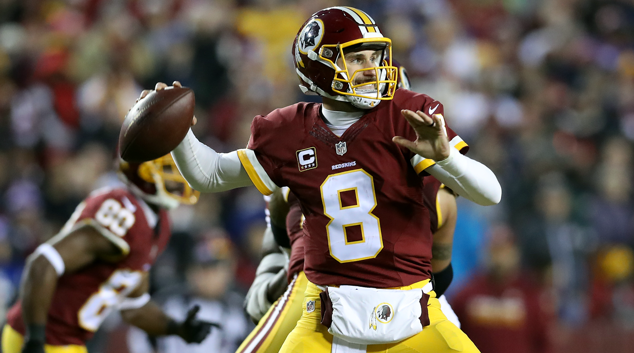 Washington Redskins quarterback Kirk Cousins.