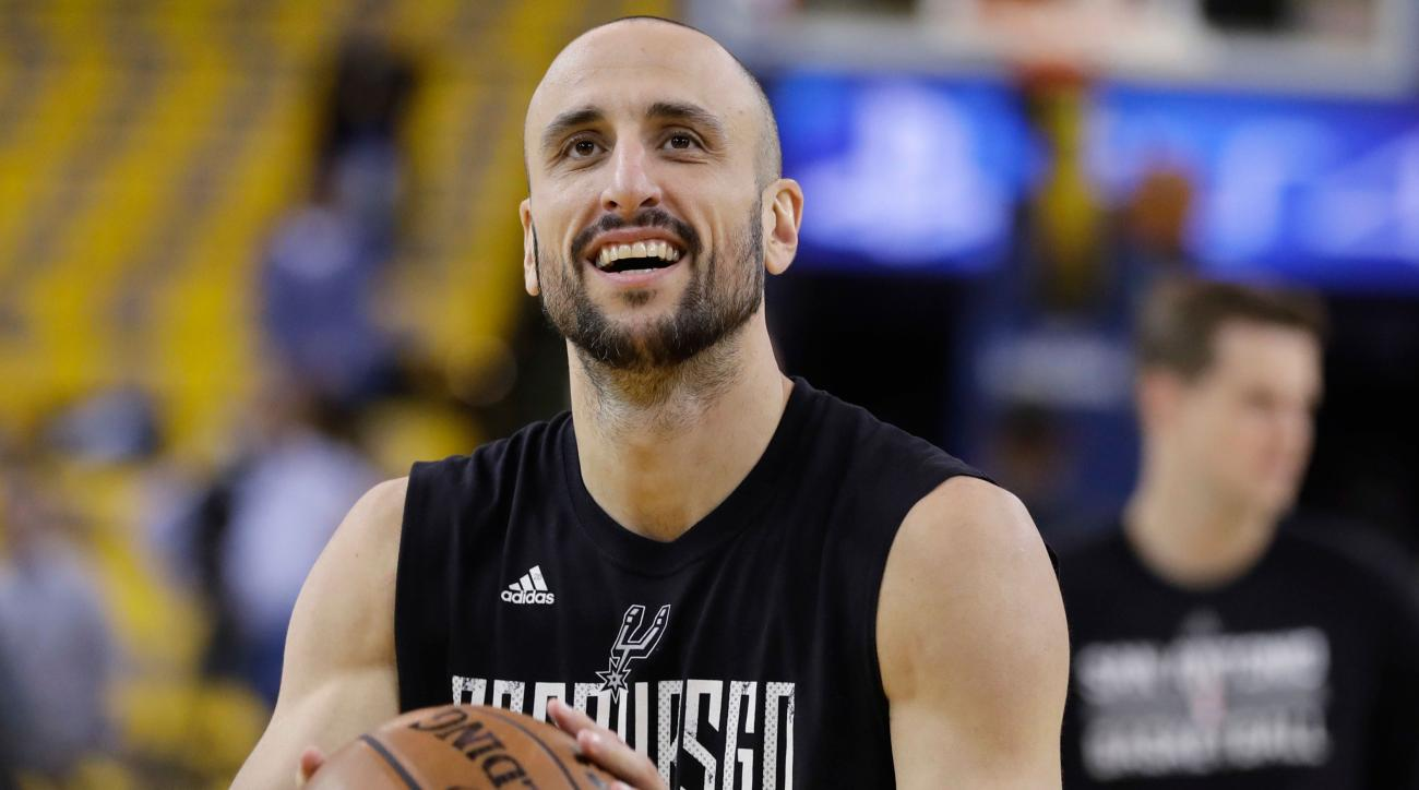 Ginobili nearing Spurs return
