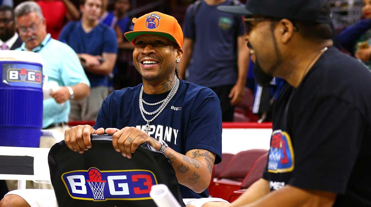 a7687a78aea Allen Iverson And Ice Cube On BIG3, NBA, Warriors And More | SI.com