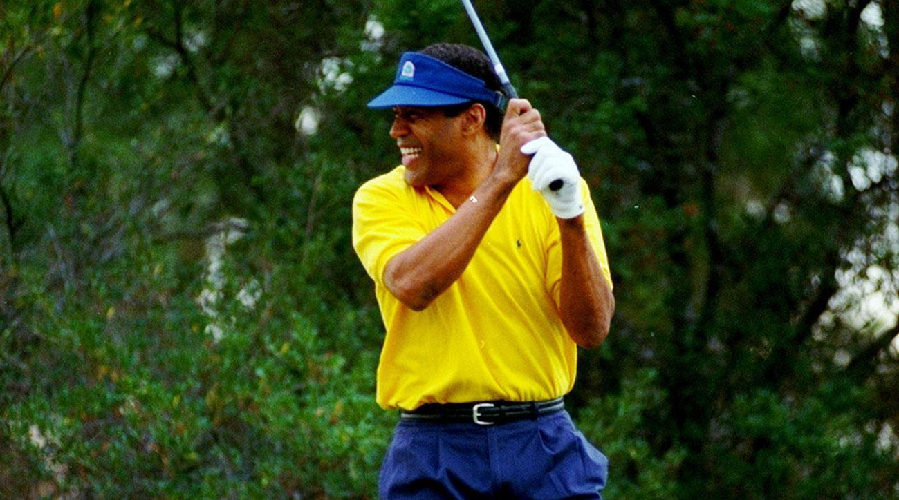O.J. Simpson in 2000. An avid golfer, he was a member of Riviera in Los Angeles.