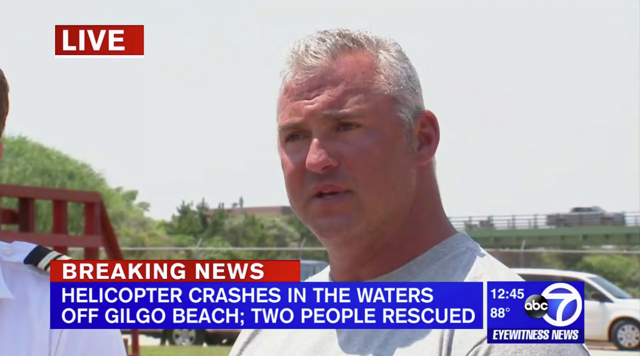 WWE's Shane McMahon makes emergency helicopter landing off NY coast