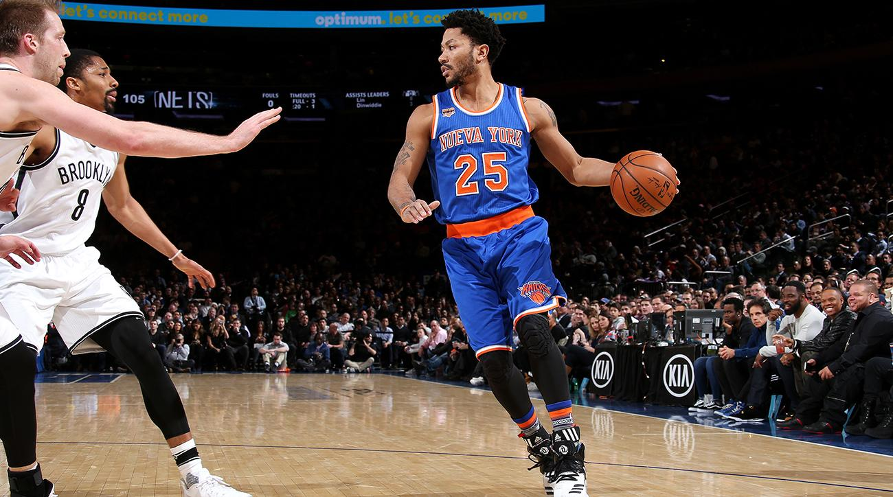 Derrick Rose in serious talks with Cavaliers on one-year contract