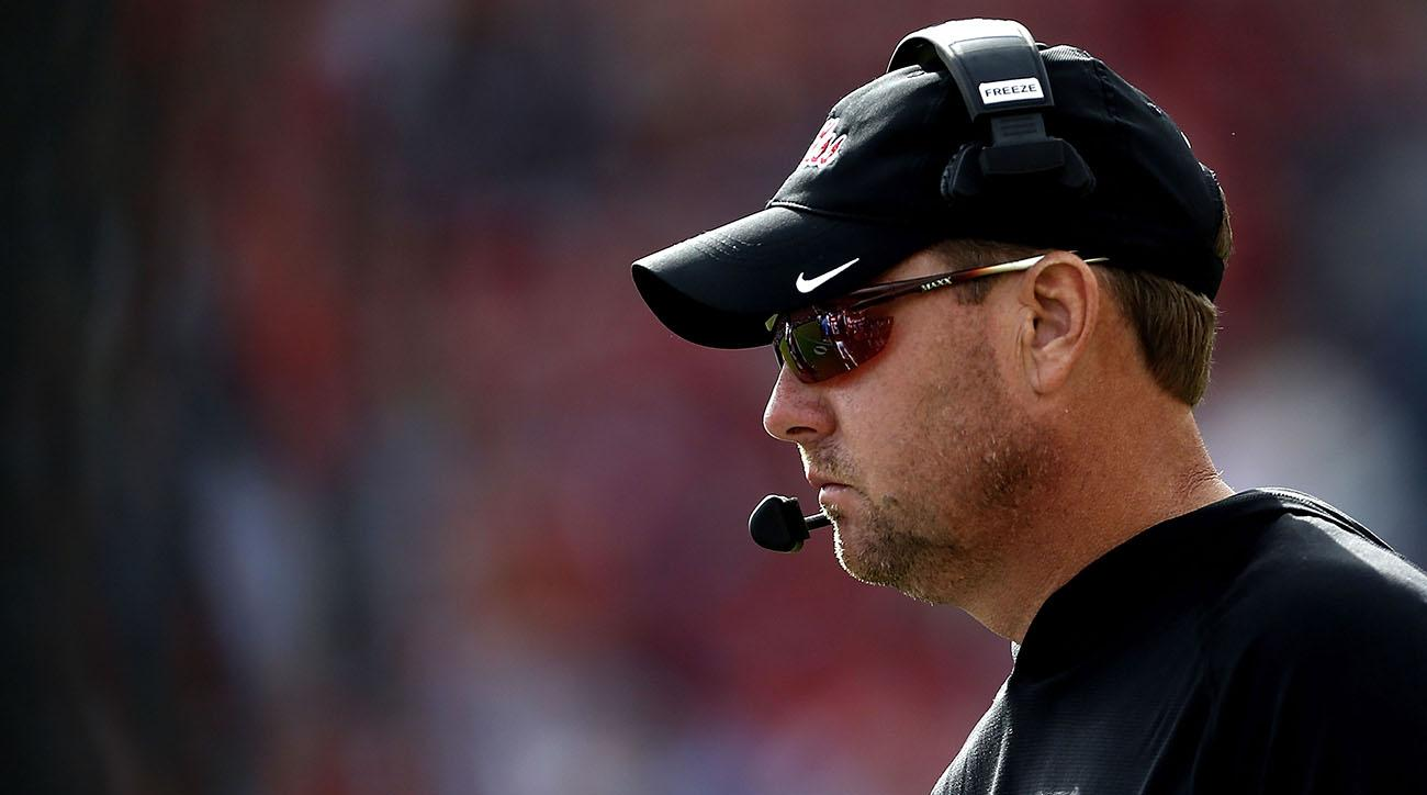 Hugh Freeze (ex-Jim Harbaugh foe) resigns as Ole Miss' head coach