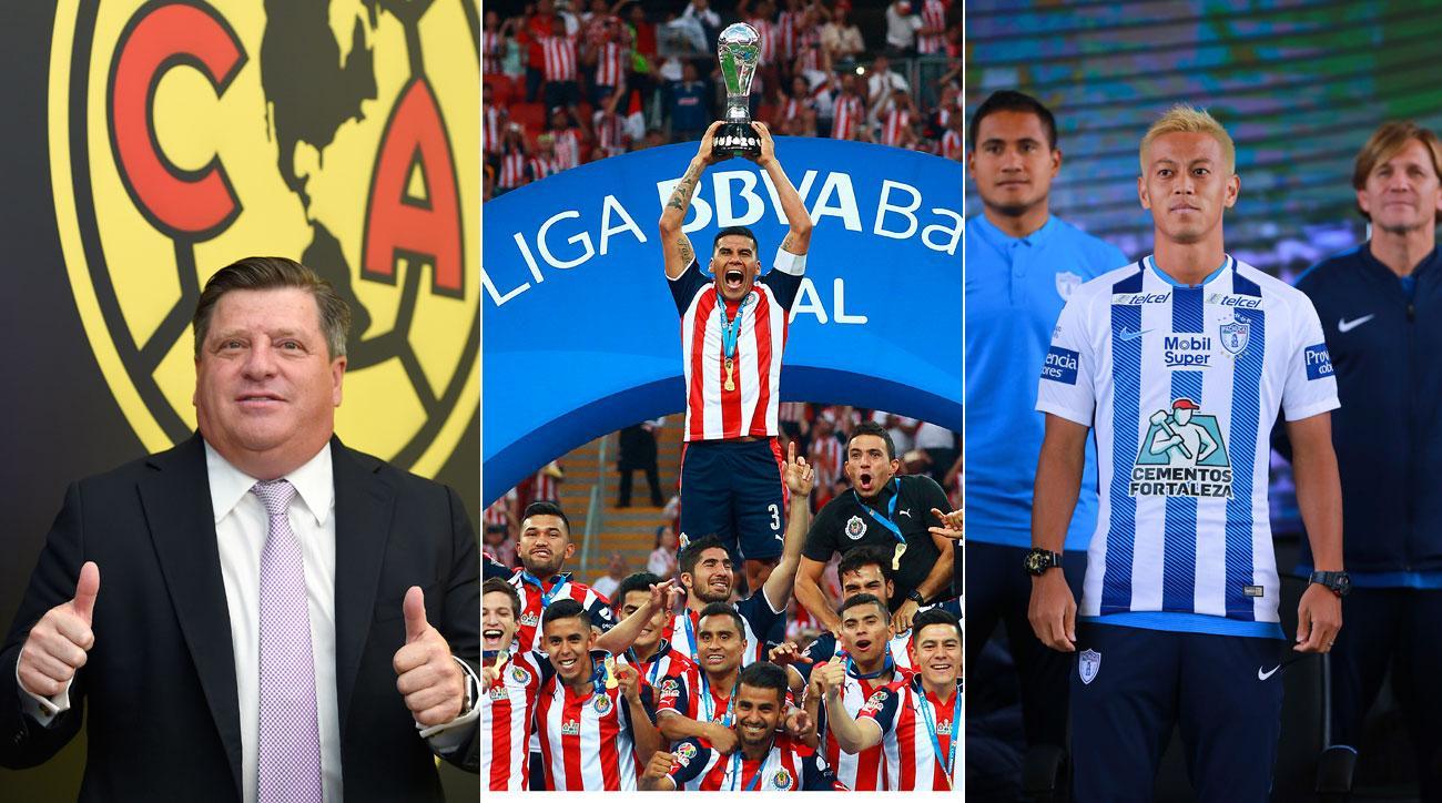 d5d817cda19 Liga MX Apertura 2017: Chivas, America, Pachuca command spotlight | SI.com