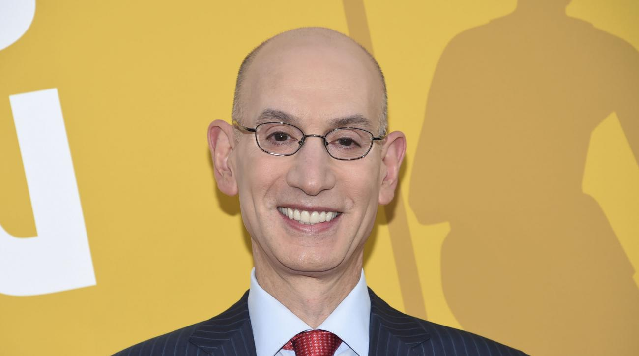 Adam Silver said he thinks if invited, NBA champions should go to the White House.